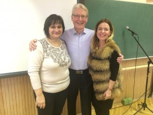 English with Mr.Granville Pillar - Ildiko and Orsi -the teachers 2015.dec. 7